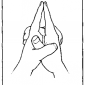 20 ksepana pouring out mudra