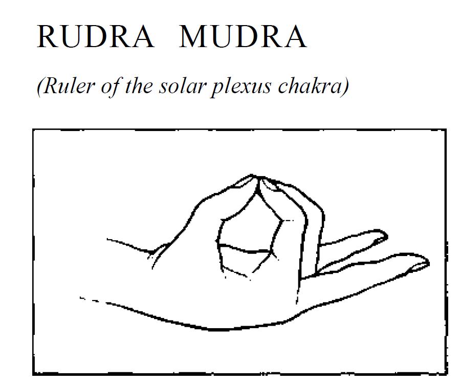 21 rudra solar plexus mudra