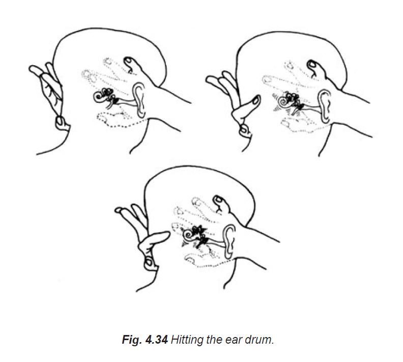 4.34 hitting the ear drum