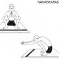 namaskarasana salutation pose 6