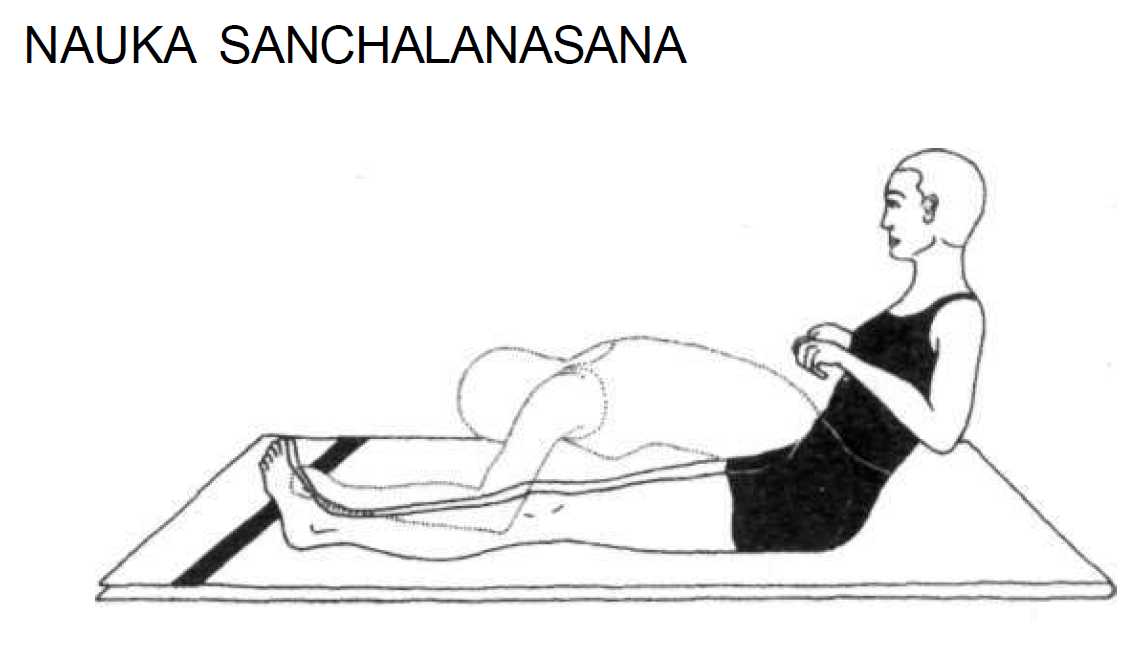 nauka sanchalanasana rowing the boat 4