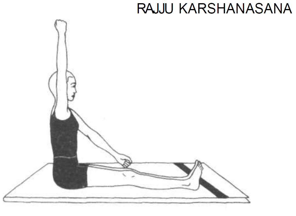 rajju karshanasana pulling the rope 1