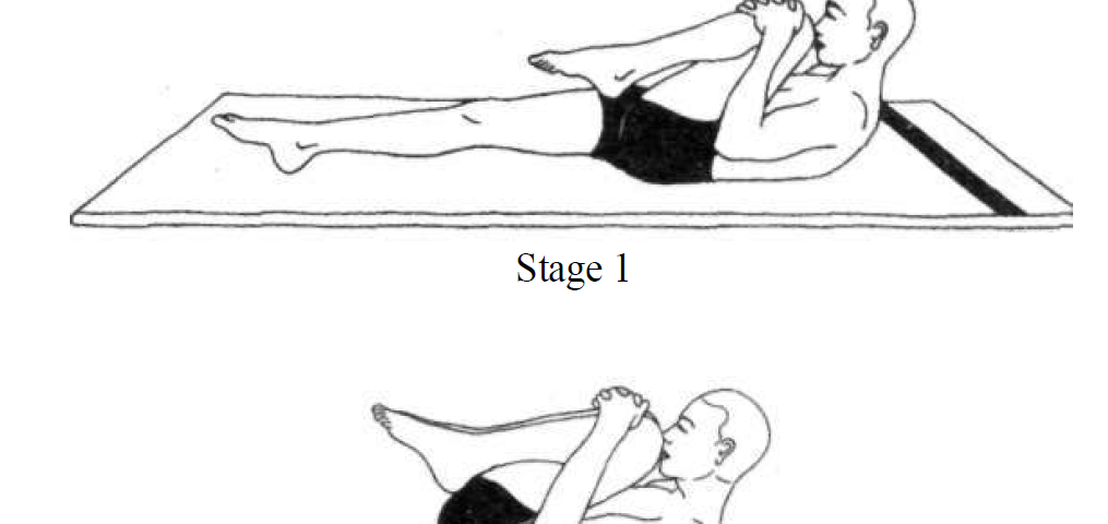 supta pawanmuktasana leg lock pose 4