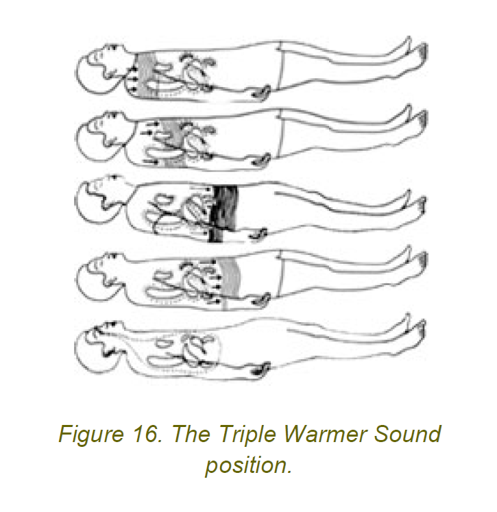 the triple warmer sound position 6