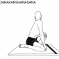 udarakarshanasana abdominal stretch 9