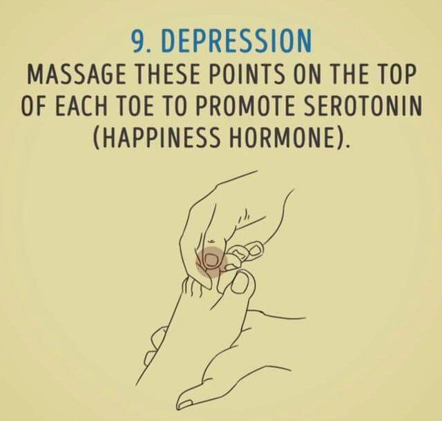 depression diy massage 9
