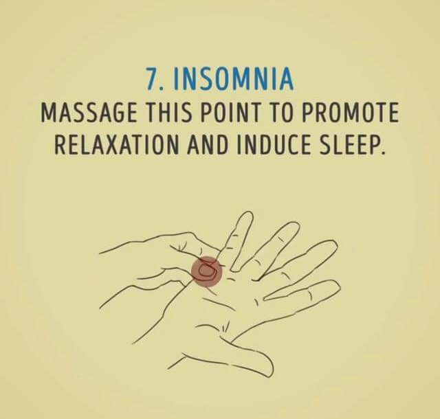 insomnia diy massage 7