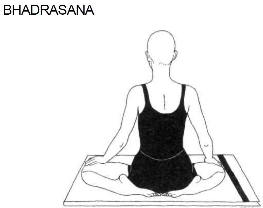 4 bhadrasana