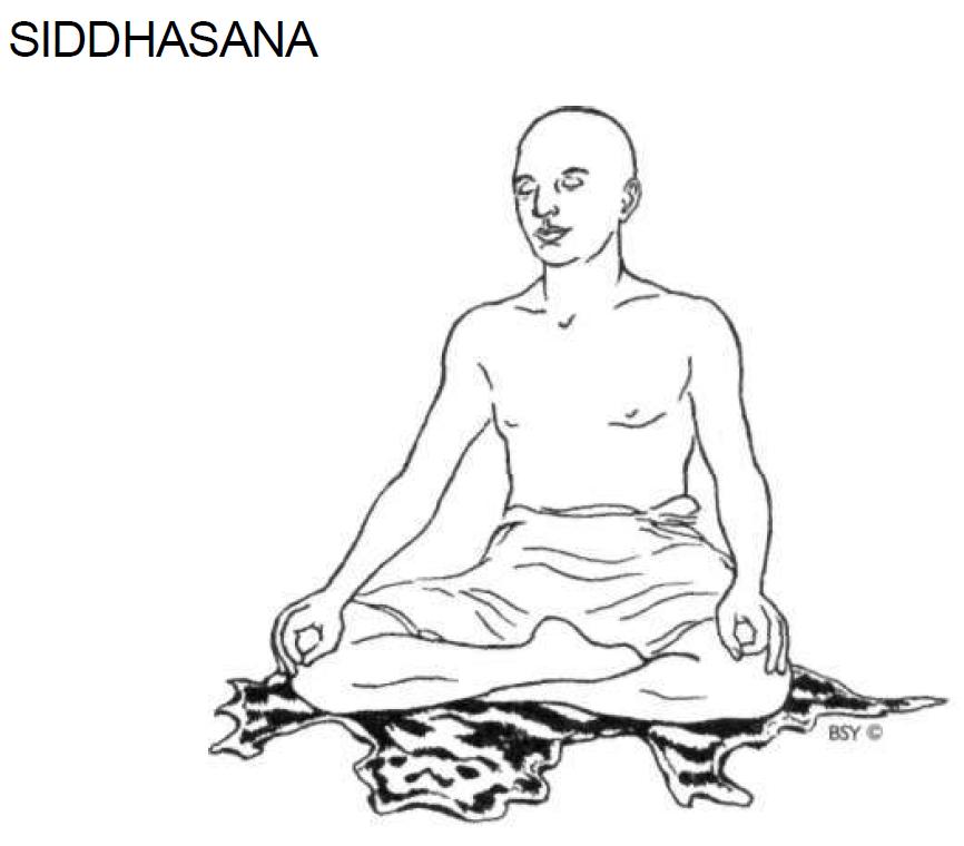 4 siddhasana